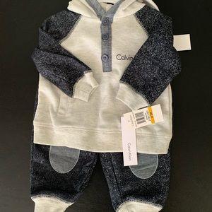 Calvin Klein baby outfit